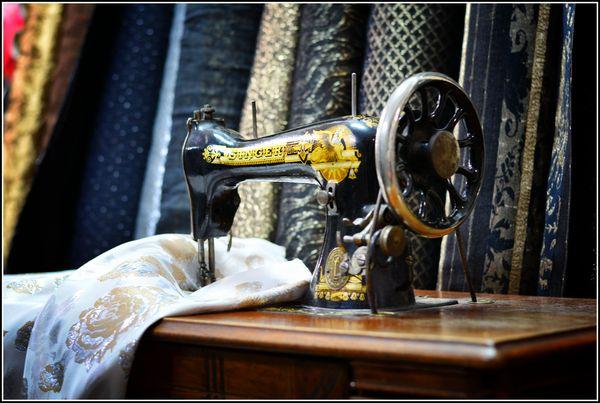 Tkaniny trzeba dotknąć / fot. materiały prasowe Matex