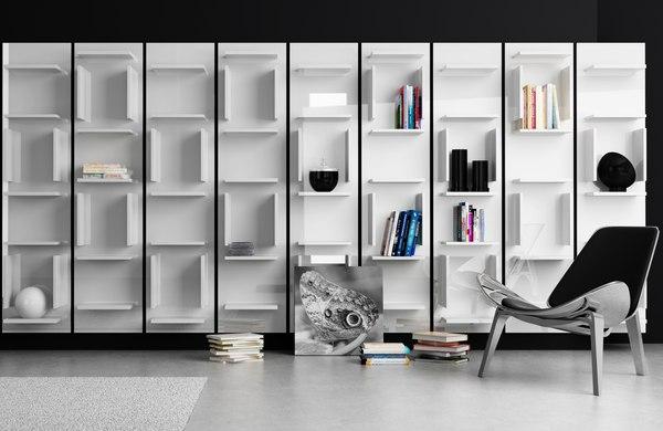 Stylowe modele biblioteczek na www.rosanero.pl / fot. Rosanero