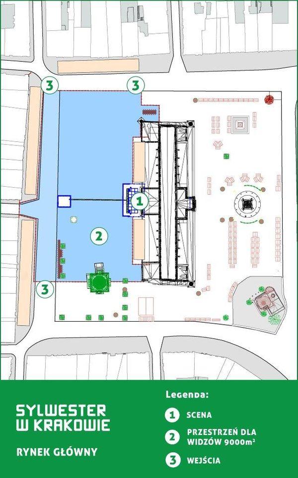 Plan Sceny Głównej / fot. materiały prasowe