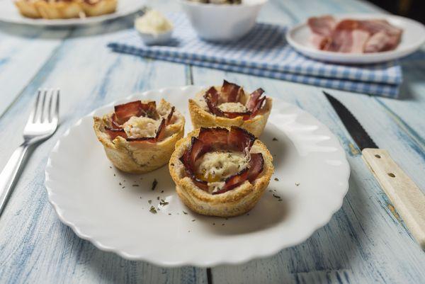 Tostowe muffinki / fot. materiały prasowe