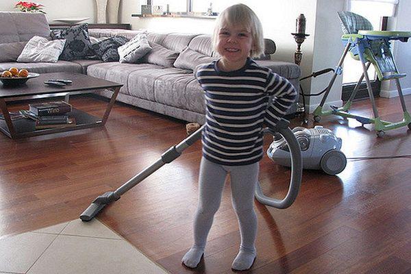 Mamo, popatrz jak ładnie sprzątam / fot. flickr