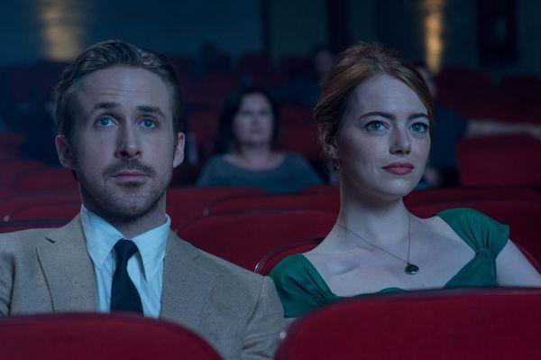 """Emma Stone & Ryan Goslin w """"La la Land"""" / fot. materiały prasowe"""