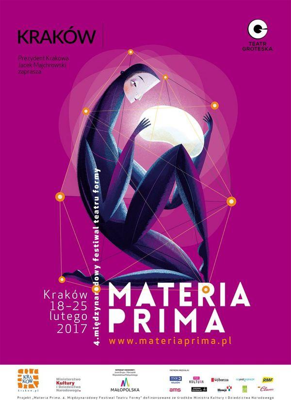 Materia Prima 18-25 lutego / plakat: Maciej Szymanowicz