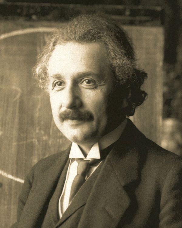 Albert Einstein w 1921 r. / fot. Ferdinand Schmutzer