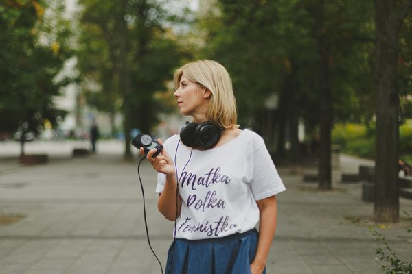 Joanna Mielewczyk przez 13 lat współpracowała z radiową Trójką / fot. materiały prasowe