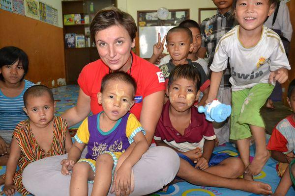 dzieci, Birma, Ewa Górszczyk