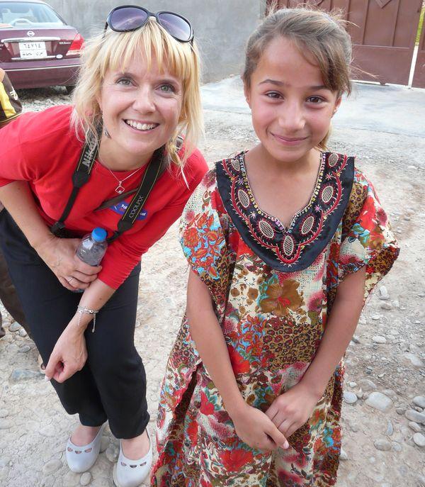 Ewa Piekarska w Iraku /fot. archiwum PMM