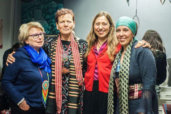 Od lewej: Alicja Bednarska, Tanna Jakubowicz-Mount, Diana Popielarska-Łyżnik, Agnieszka Hari Kartar /fot. Agnieszka Majewska