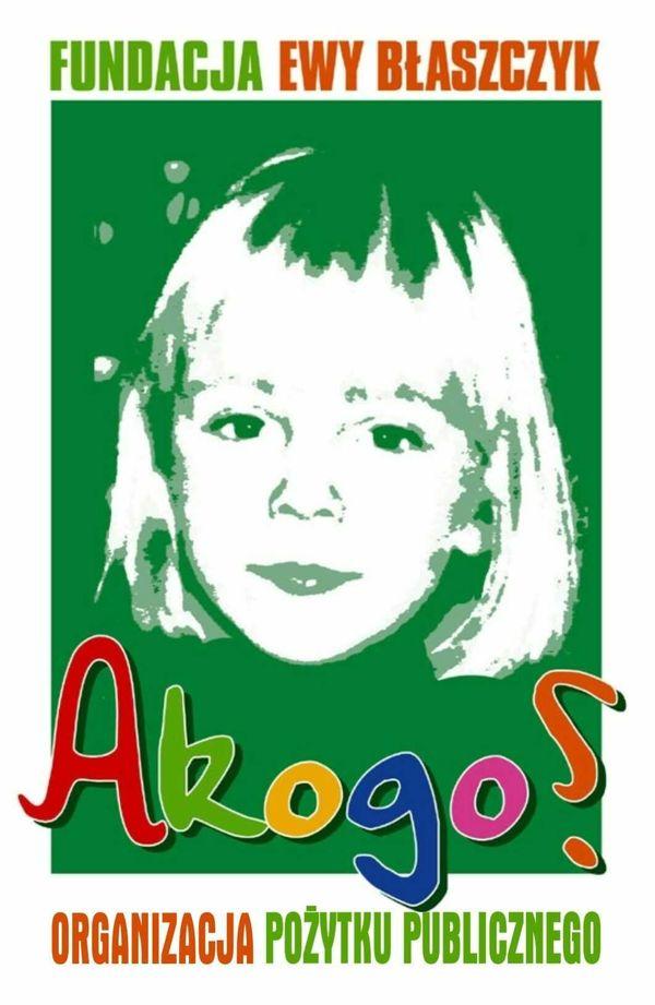 Logo fundacji Akogo? Ewy Błaszczyk / fot. Materiały prasowe