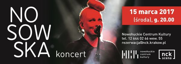 Nosowska, koncert