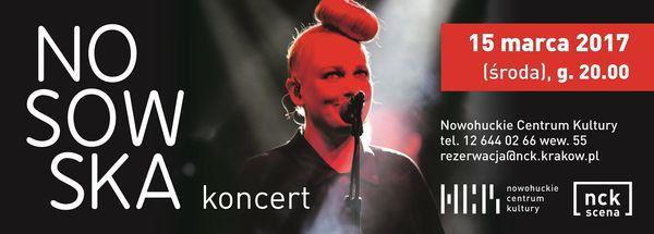 Koncert Nosowskiej już 15 marca w NCK. Nie przegap! / fot. materiały prasowe