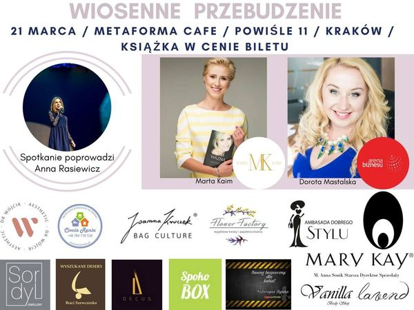 Wiosenne orzebudzenie, Metaforma Cafe, 21.03.2017, godz. 18.00 / fot. materiały prasowe
