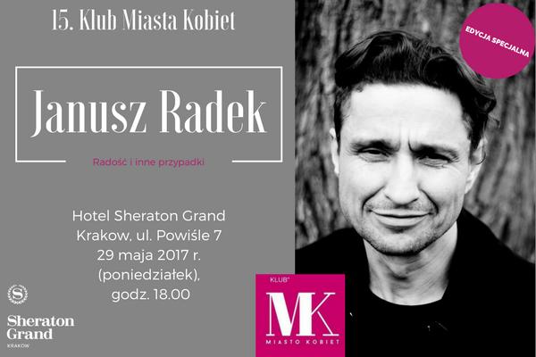 Podczas 15. KMK Janusz Radek zaśpiewa dla uczestniczek piosenki z najnowszej płyty / fot. materiały prasowe
