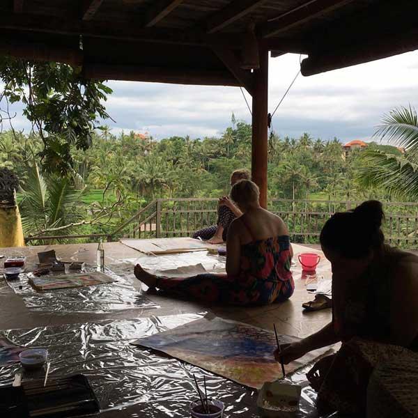 malowanie na Bali