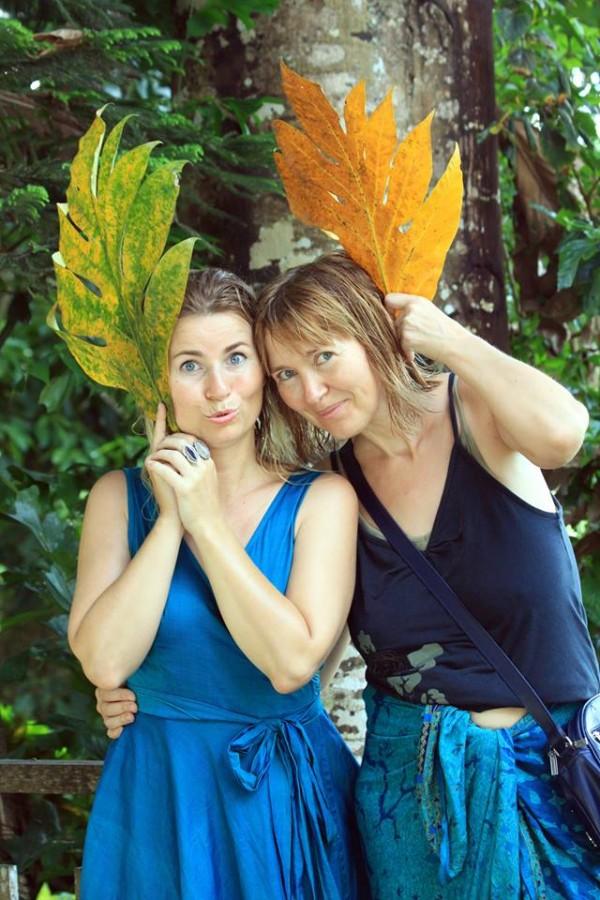 Od lewej: Issa Tifaret i Aneta Pondo (fot. Katarina Off)