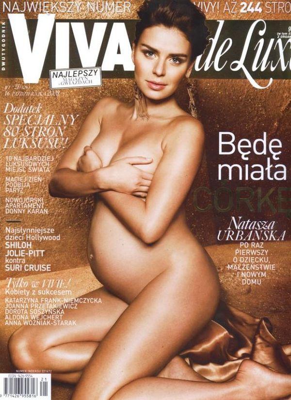 Natasza Urbańska na okładce magazynu VIVA! (2008) / printscreen