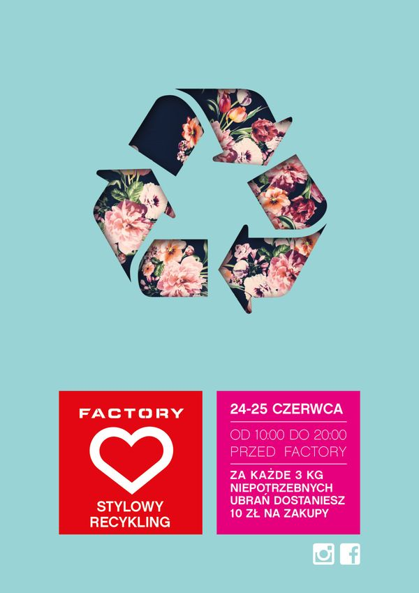 Każdy, kto w dniach 24-25 czerwca przyniesie ze sobą 3 kg ubrań otrzyma bon o wartości 10 zł! / fot. materiały prasowe