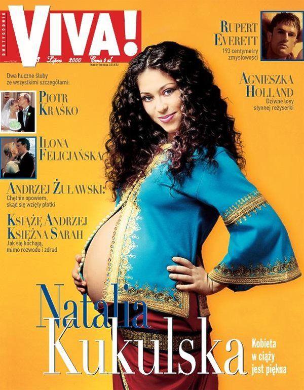 Natalia Kukulska na okładce magazynu VIVA! (2000) / printscreen / M. Staszewski
