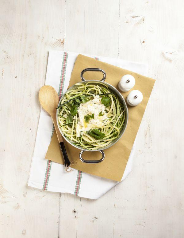 Spaghetti di zucchine wg Justyny Czekaj-Grochowskiej / fot. Mirosław Mróz