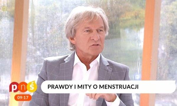 Dr Tomasz Zając poruszył kobiety i widzów / fot. screen TVP2