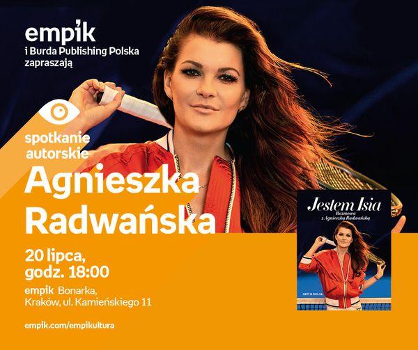 Spotkanie z Agnieszką Radwańską już 20 lipca w Krakowie! / fot. materiały prasowe