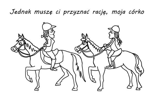 Jak mus, to mus! / rys. Maciej Dziadyk