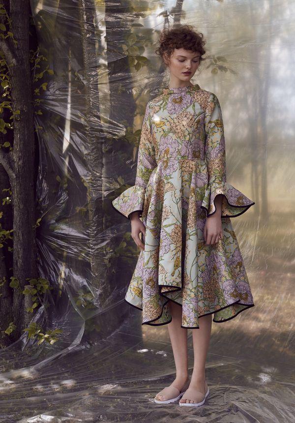 moda, waleria tokarzewska-karaszewicz, sesja, foto, kwiaty