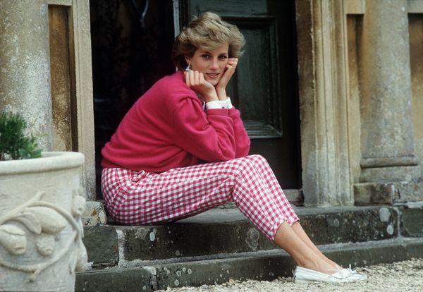 Tetbury, 18 lipca, Księżna Diana w swojej posiadłości w Highgrove, Gloucestershire / fot. Tim Graham/Getty Images