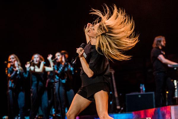 Ellie Goulding na Kraków Live Festival 2017 (fot. Stolarska/KLF)