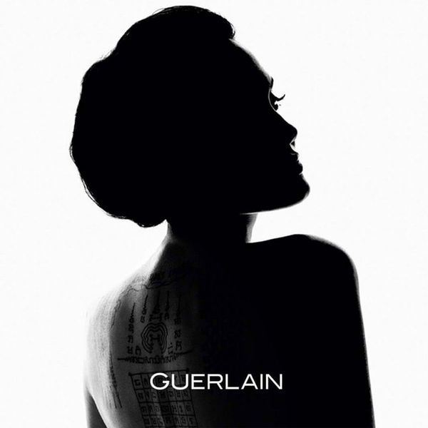 Angelina Jolie, Guerlain fragrances