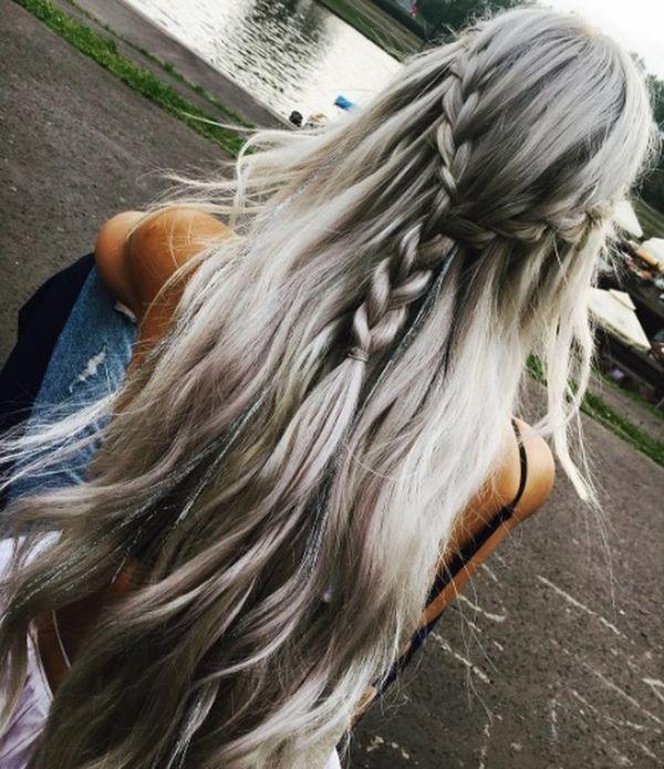 unicorn, unicorns, włosy, piękne włosy, hair, pasemka, srebrne włosy, lato