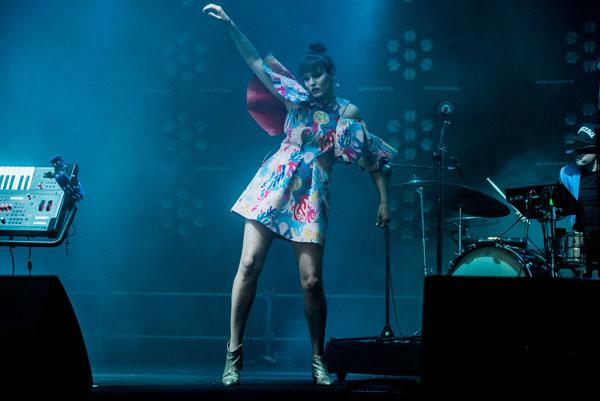 Bovska na Kraków Live Festival 2017