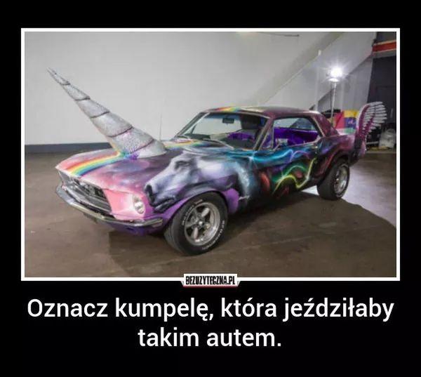 car, holo, unicorn, unicorns, samochód, pojazd, jednorożec