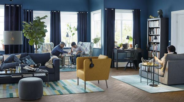 W tegorocznej odsłonie Katalogu IKEA 2018 w centrum uwagi znalazł się pokój dzienny / fot. materiały prasowe