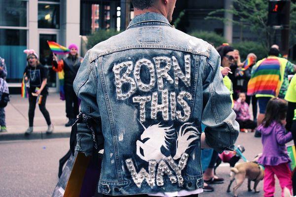 jednorożce, unicorn, lato, kolorowe włosy, kurtka, born this way