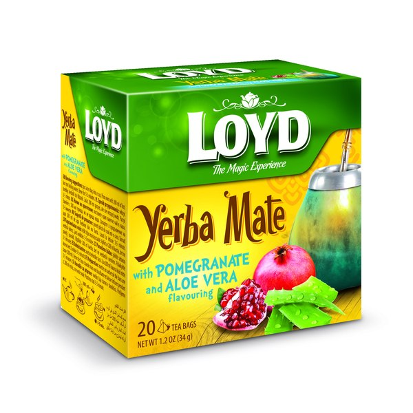 Loyd Yerba Mate o smaku granatu / fot. materiały prasowe