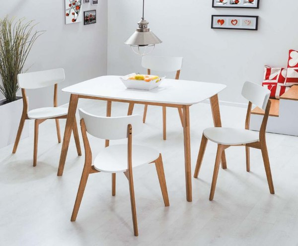 Stół i krzesła Mosso / fot. materiały prasowe
