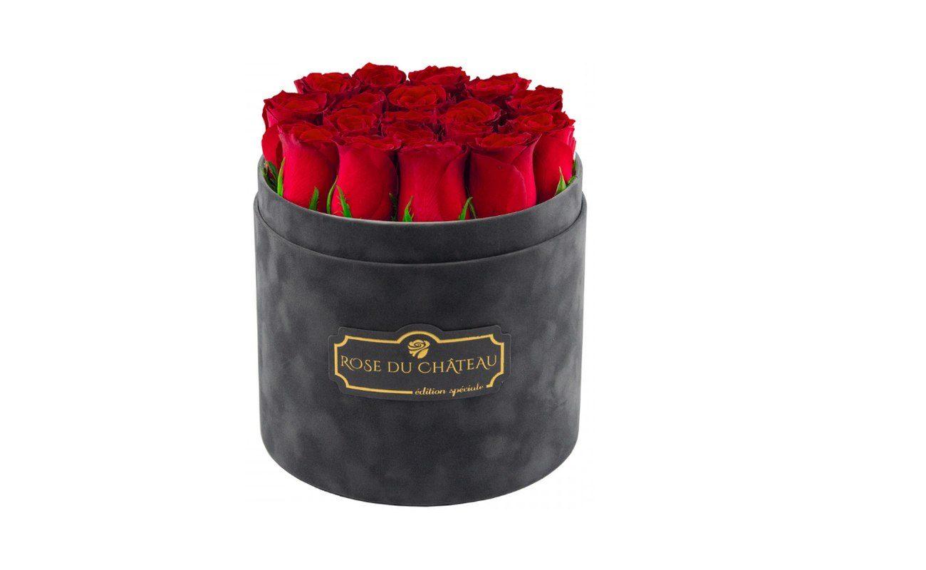 Trwałe Róże W Pudełku Kwiaty Idealne Dla Najbardziej
