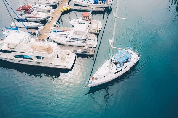 żeglarstwo, pasja, port, jezioro