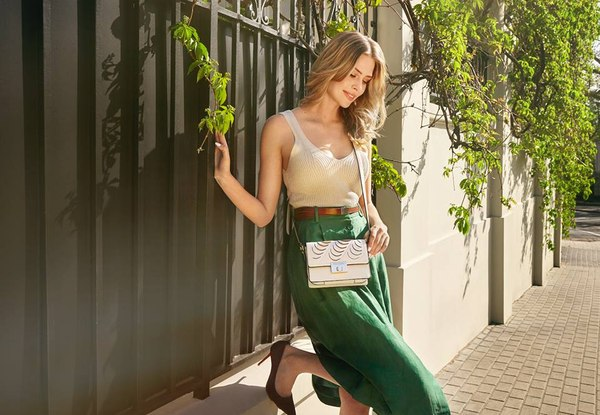 moda, lato, torebki, na pasku, styl