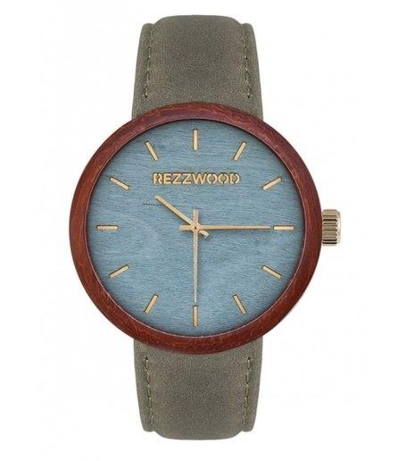 rezzwood, prezent ślubny, drewniany zegarek, moda