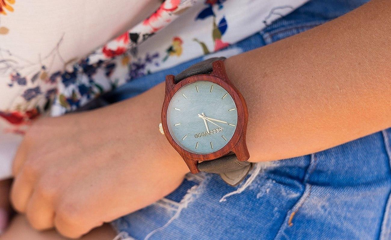 drewniany zegarek, marka zegarków, styl