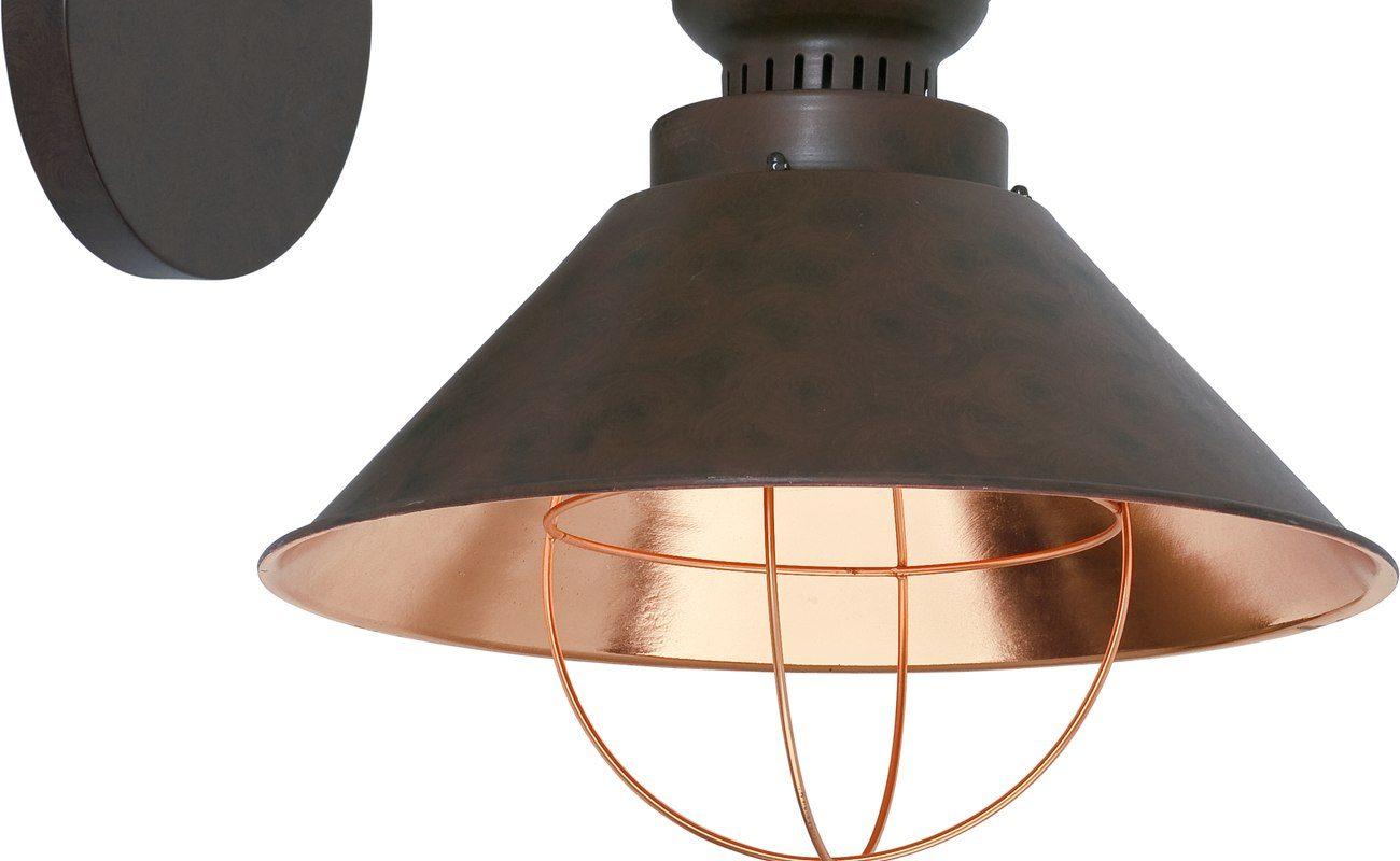kinkiet industrialny, lampa, design, dom