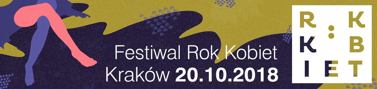 Festiwal Rok Kobiet już 20 października w Krakowie