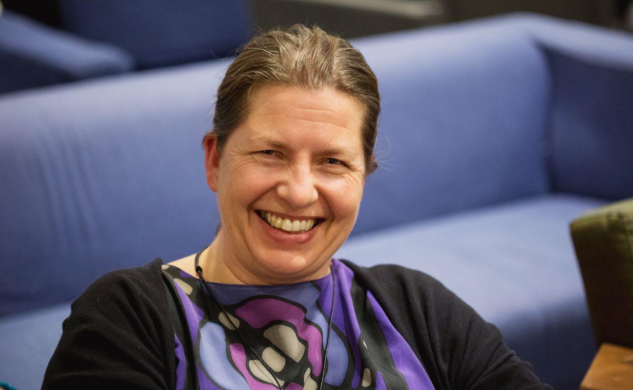 Uśmiechnięta Joanna Husskowska