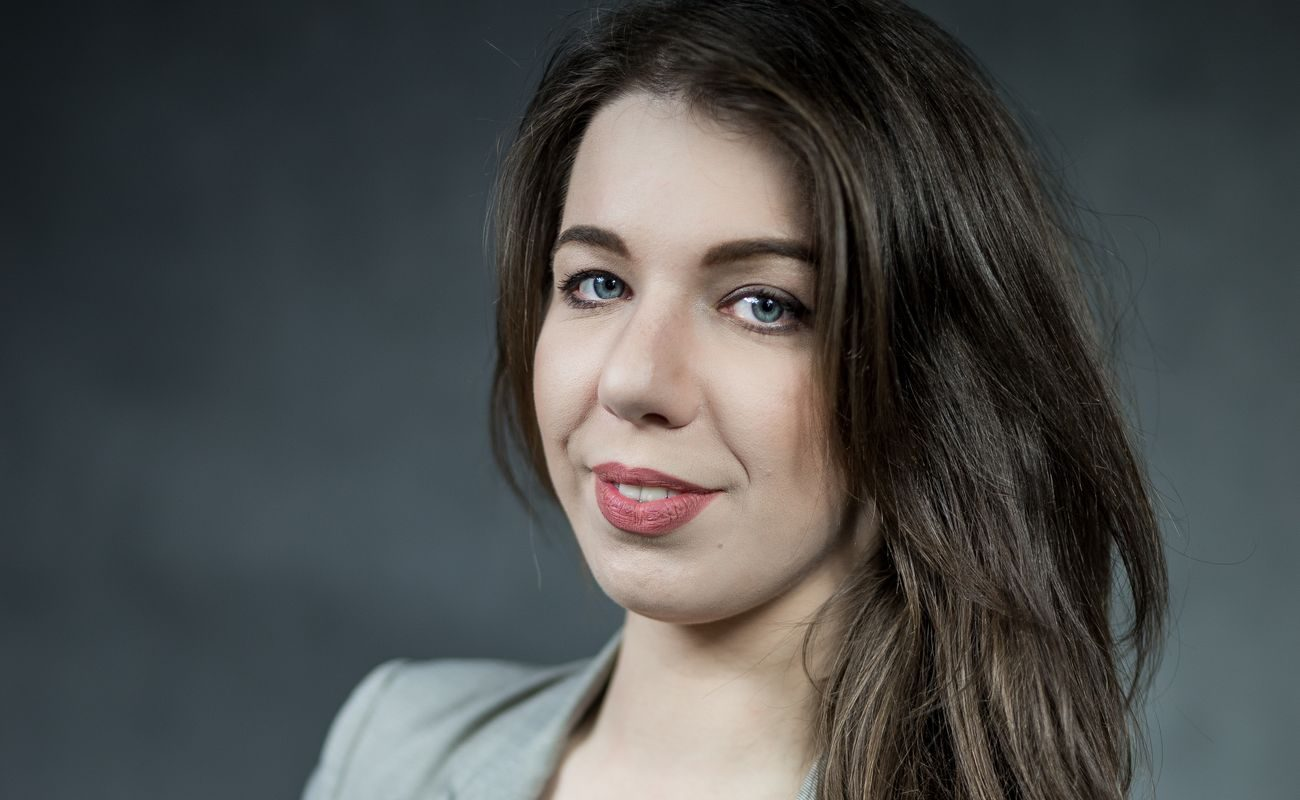 Portret Niny Gabryś