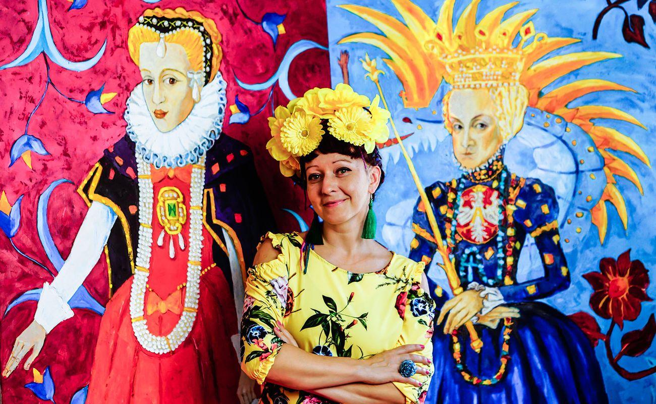 Anna Kaszuba-Dębska i Poczet Królowych Polskich