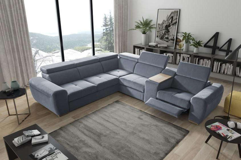 narożnik, komfortowe meble, dom