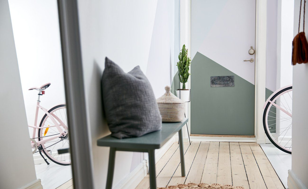 drzwi, remont, drewniane drzwi, malowanie, dom