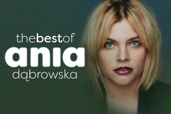 Ania Dąbrowska na okładce swojego najnowszego albumu